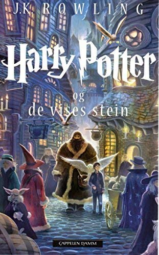 Harry Potter NORWEGISCH: Og de vises stein (norwegian, norsk)