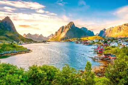 Die Geschichte der norwegischen Sprache