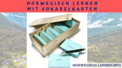 Norwegisch lernen mit Vokabelkarten