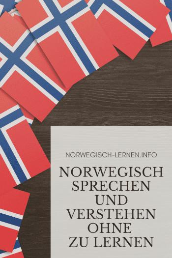 Norwegisch sprechen und verstehen ohne zu lernen pinterest