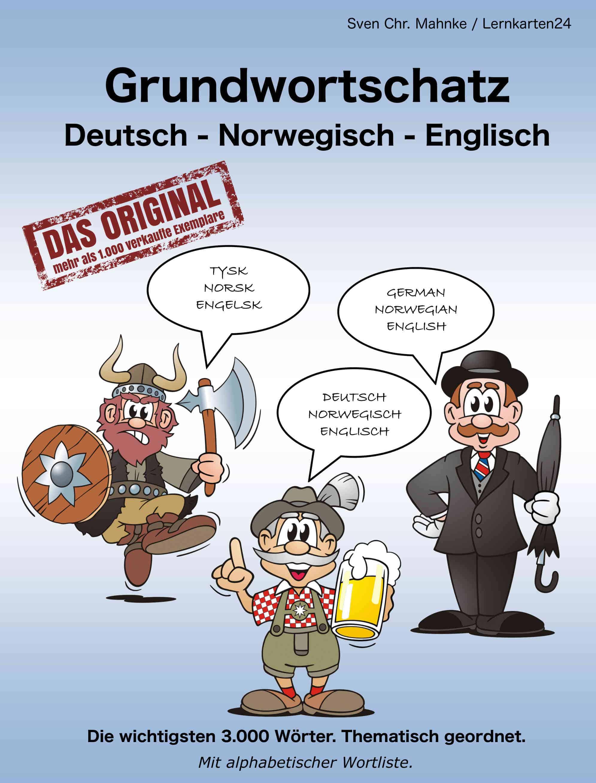 """Geschenkt: """"Grundwortschatz Deutsch - Norwegisch - Englisch"""""""