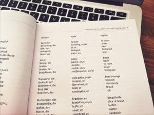 Norwegisch Grundwortschatz thematische Sortierung
