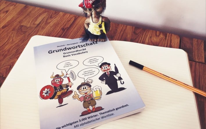 Grundwortschatz Deutsch Norwegisch Englisch