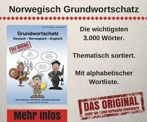 Grundwortschatz Deutsch - Norwegisch - Englisch
