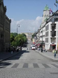 Elektroautos auf Oslos Strassen