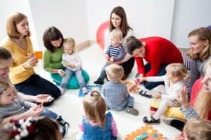 kindergarten in Norwegen