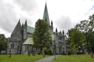 Der Nidaros Dom in Trondheim Grabstätte vom Wikingerkönig Olav