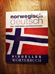 visuelles Woerterbuch norwegisch deutsch Vorderseite