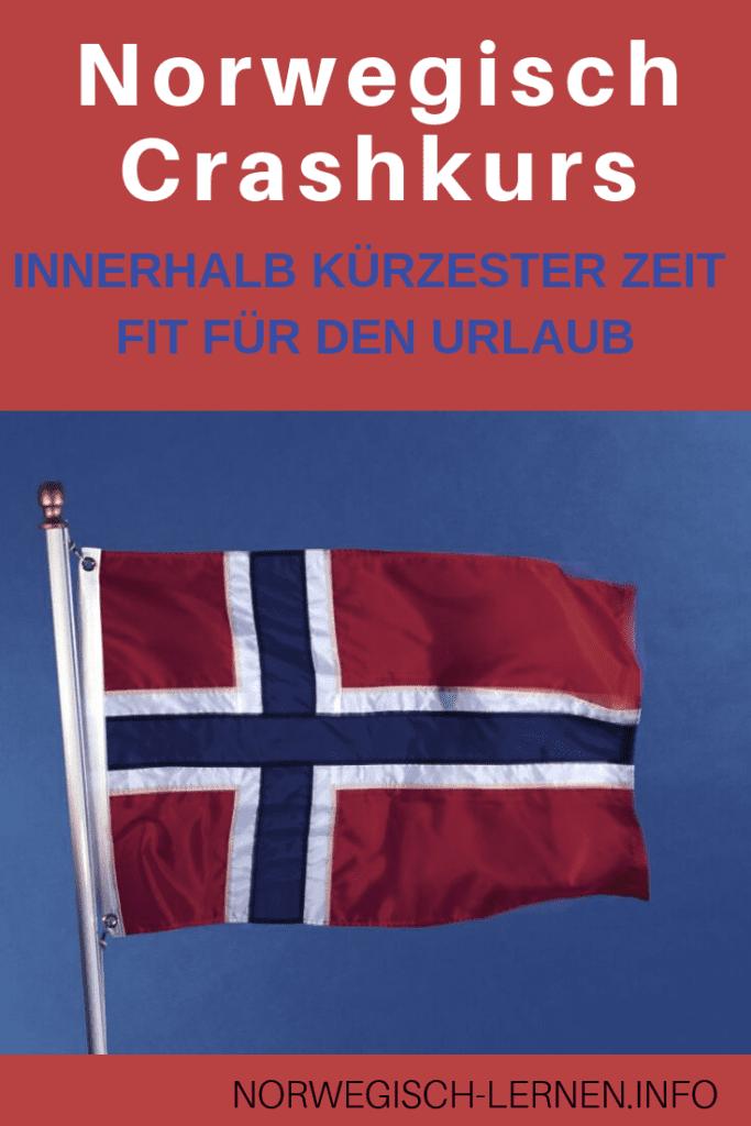 Norwegisch Crashkurs - Innerhalb kuerzester Zeit fit fuer den Urlaub pinterest