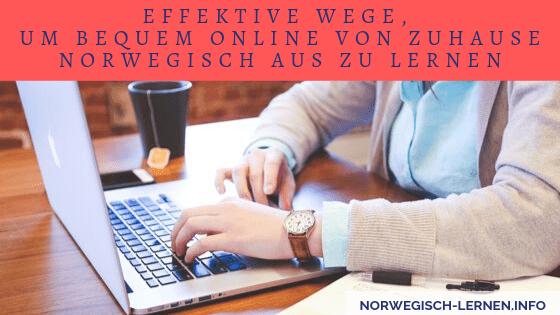 Effektive Wege, um bequem online von zuhause Norwegisch aus zu lernen