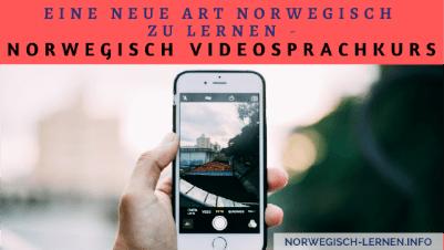 Norwegisch Videosprachkurs von Sprachenlernen24