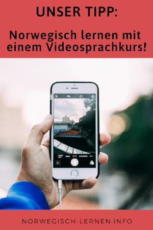 Unser Tipp Norwegisch lernen mit Videosprachkurs
