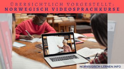 Übersichtlich vorgestellt Norwegisch Videosprachkurse
